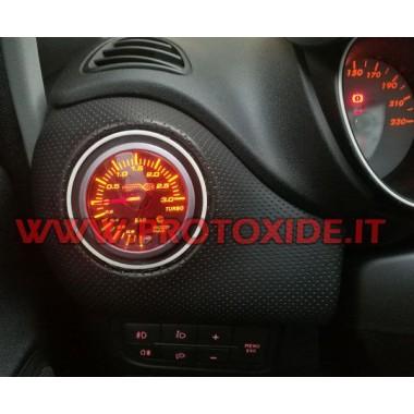 Peugeot 308 turbo buse de pression de jauge avec de la mémoire et d'alarme