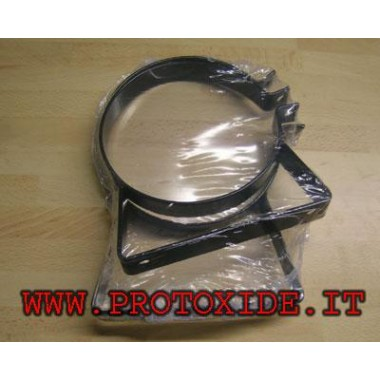 Brackets for Italian homologated cylinder 4 kg Spare parts for nitrous oxide systems