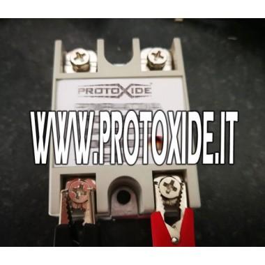 100 AMP 12 voltu DIGITAL relejs Slēdži un pogas