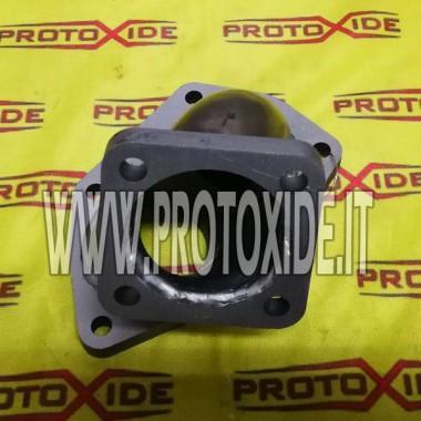 Downpipe scarico INOX per Lancia Delta maggiorato per Turbo TD05 Mitsubishi Evo 8-9 Downpipe per motori turbo a benzina
