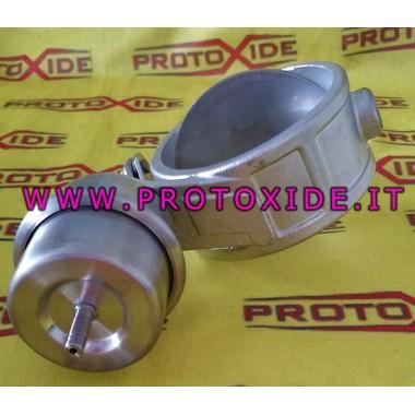 PRESSURE muffler opening and closing valve Valves exhaust muffler