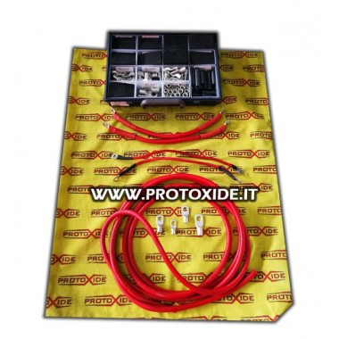 Kábel batérie - meďový alternátor pokrytý silikónom s veľkým priemerom Batérie káblov