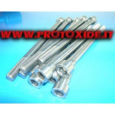 Förstärkta cylinderhuvudbultar för Fiat PUNTO GT - UNO Turbo 1.400 10mm Förstärkta huvudbultar