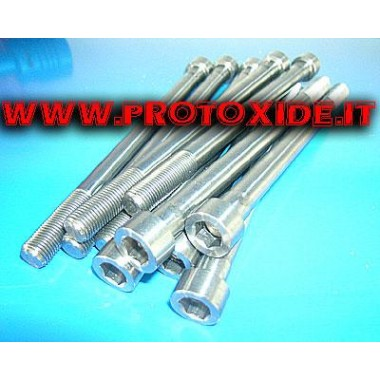 Parafusos de cabeça de cilindro reforçados para Fiat PUNTO GT - UNO Turbo 1.400 10mm Parafusos de cabeça reforçados