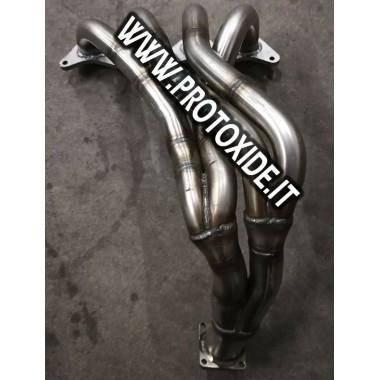 Manifold egzoz manifoldu Fiat Coupe 2.000 16V emişli Emişli motorlar için çelik manifoldlar