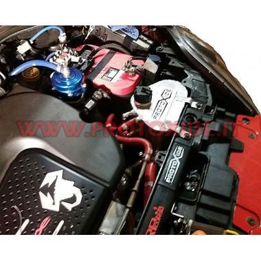 Aluminium motorvandsbeholder Fiat GrandePunto Abarth Bade for olie- og brændstoftanke