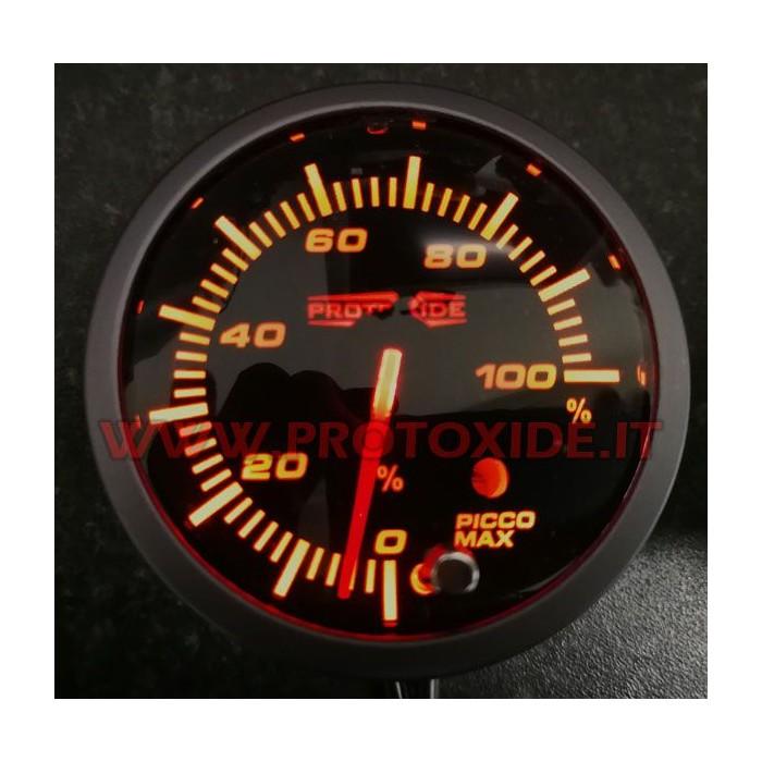 Indicatore livello carburante con percentuale quantità benzina 60mm per galleggiante serbatoio Indicatori livello carburante ...