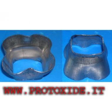 Πλαίσιο 4 σε 1 Φλάντζες για Turbo, Downpipe και Wastegate