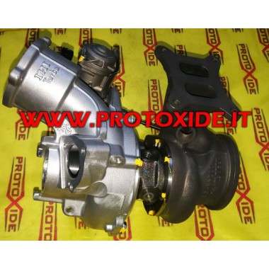 Change of the turbocharger Vw Golf 7GTI on bearings Racing ball bearing Turbocharger