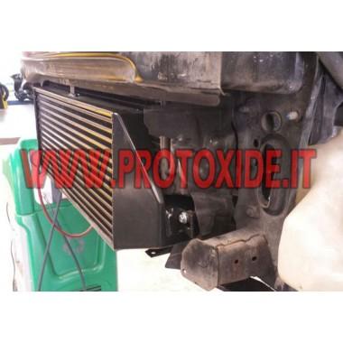 Intercooler frontale maggiorato Minicooper R56 1600 Intercooler Aria-Aria