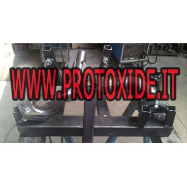 Downpipe-uitlaat elimineert dpf fap Fiat 1.3 mj Panda Cross 1300 95pk Downpipe Turbo Diesel and Tubes eliminates FAP