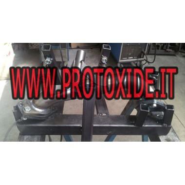 Uitlaat downpipe elimineert dpf fap Fiat 1300 mj Panda Cross 95pk Downpipe Turbo Diesel and Tubes eliminates FAP