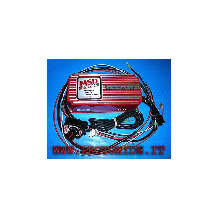 Electronic ignition with time delay and superbobina Performances Ignition and Coil