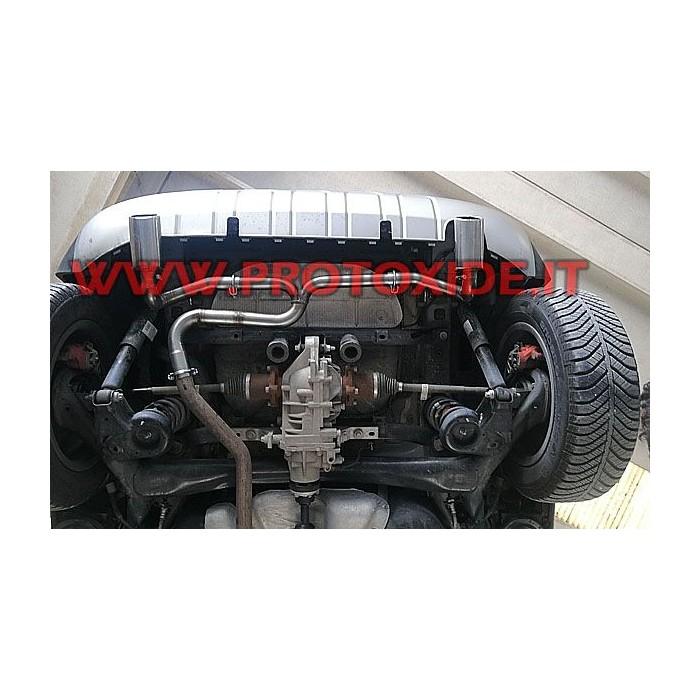 Rear exhaust for Hyundai IX35 1.7 CRDI -2.0