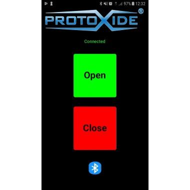 Udstødningsgrænseflade til lyddæmper med Bluetooth til Android Ventiler udstødningsdæmper