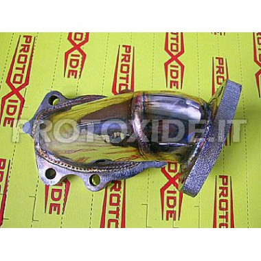 Downpipe Auspuff für Fiat Punto Gt / T. One - T28 Downpipe for gasoline engine turbo