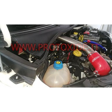 Direkte indtag med sportsluftfilter 500 Abarth 1.400 turbo 16v Specifikke ærmer til biler