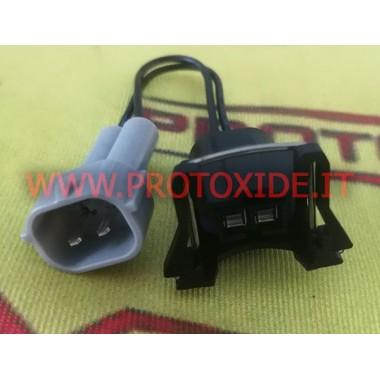 Conectores adaptadores para inyectores Bosch con conexión Denso Conectores eléctricos automotrices