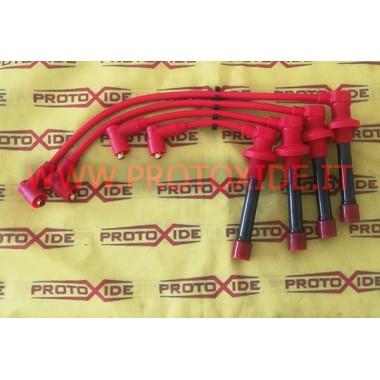 Red Fiat Punto 1.2 16V cables de bujías 1a serie alta conductividad Cables de vela específicos para automóviles