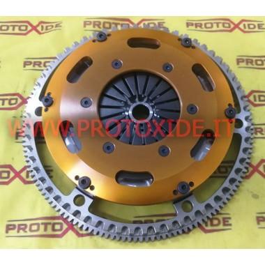 גלגלת תנופה רנו קליו RS 203 R3 פלדה עם מצמד מחוזק ב ergal פלדה גלגל תנופה ערכת להשלים עם מצמד