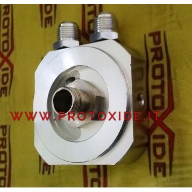 Adattatore sandwich portafiltro per radiatore olio Nissan Patrol 3300 turbo SD33T 110hp 1-12 Supporti filtro olio e accessori...