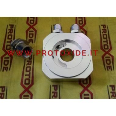 Sandwichfilterholderadapter til Nissan Patrol 3300 turbo SD33T 110hk oliekøler Understøtter oliefilter og olie køligere tilbehør