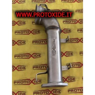 פליטה ללא פליטה קטליטית פיאט 124 Abarth 1.400 עבור טורבו המקורי Downpipe for gasoline engine turbo