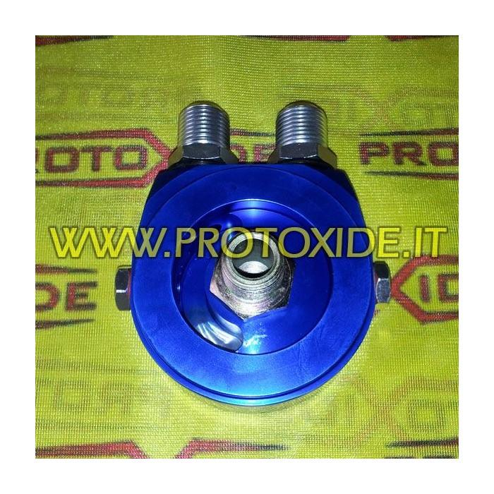 Adattatore per installazione radiatore olio specifico Fiat-Alfa-Lancia 1000-1100 motori fire