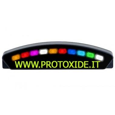 Módulo de luz de cambio + hub + cable de 50 cm Tacómetro del motor y luces de cambio
