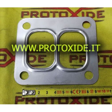 Gasket for turbo T6 divided twin scroll