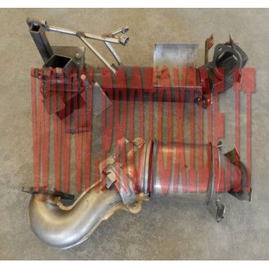 VW Golf 5 1,400ターボ容量ダウンパイプ168 hp(触媒なし) Downpipe for gasoline engine turbo