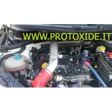 Přímý přívod se sportovním vzduchovým filtrem 500 Abarth 1400 turbo 16v Speciální rukávy pro automobily