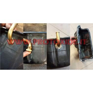Raccord de vidange d'huile turbo pour carter d'huile Accessoires Turbo