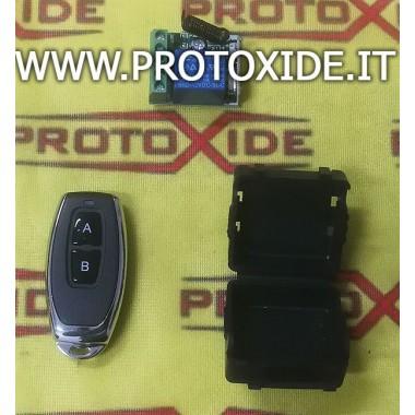 Módulo de unidad de control con activación del actuador con control remoto de 12v Interruptores y mandos a distancia