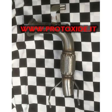 無料の排気管MiniCooper F56 2.000 TurboおよびJCW Downpipe for gasoline engine turbo