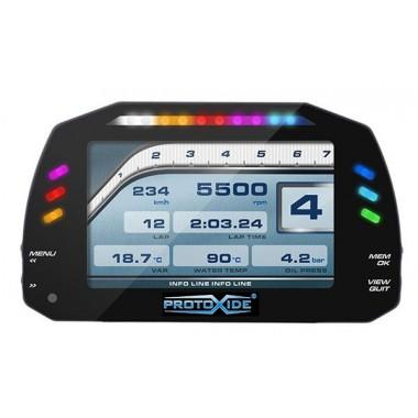 لوحة القيادة الرقمية للسيارات والدراجات النارية عرض 7 بوصة G لوحات رقمية