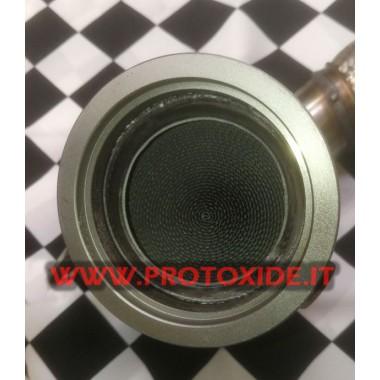 MiniCooper F56 2.000 TurboおよびJCW用の触媒排気管 Downpipe for gasoline engine turbo