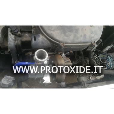"""מגדש טורבו להמרת טורבו למנועי Fiat FIRE 1100-1200 עד 150 כ""""ס Turbochargers על מסבי מירוץ"""