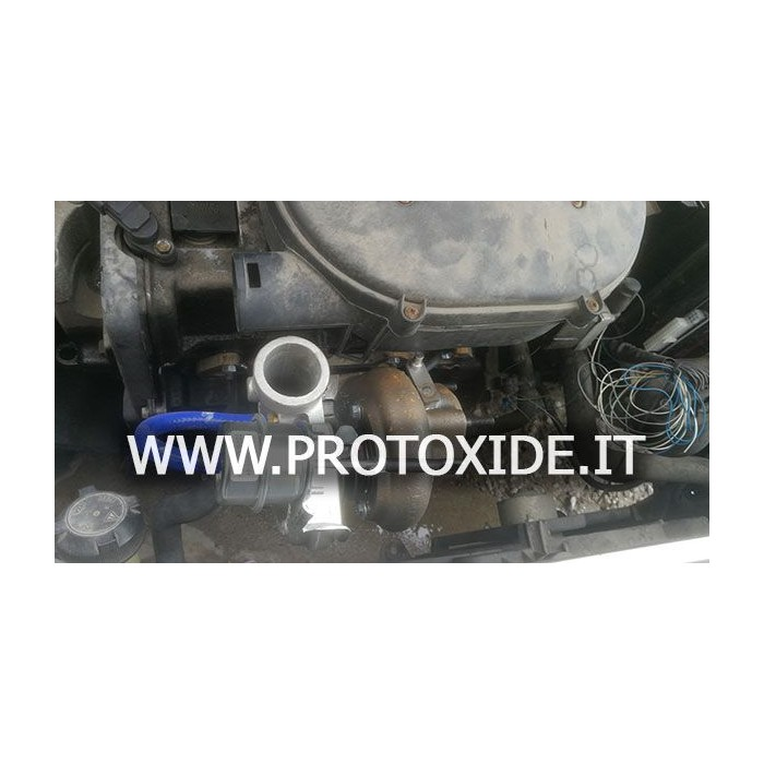 Turbocharger for turbo conversion for Fiat FIRE 1100-1200 engines up to 150 hp Racing ball bearing Turbocharger