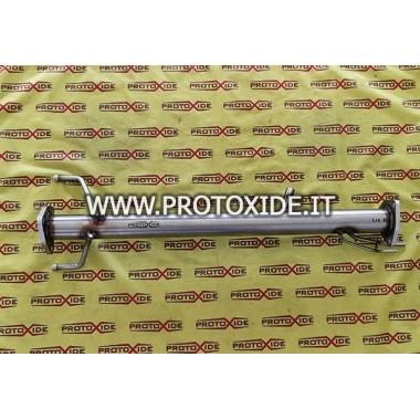 Downpipe exhaust eliminates dpf fap Renault Clio DCI 1.5