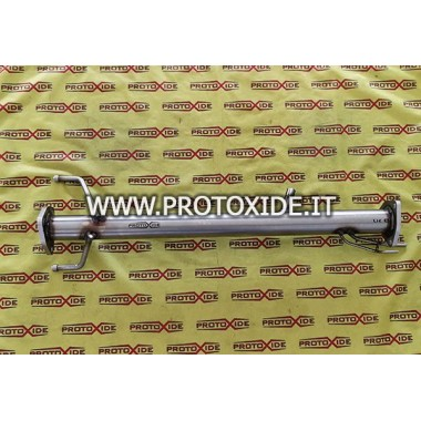 Exhaust pipe eliminates dpf fap Chevrolet Captiva 2000 Downpipe Turbo Diesel and Tubes eliminates FAP