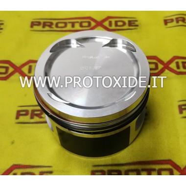 Pistoni stampati Fiat Bravo 1600 16v trasformato Turbo - Marea Punto Gt - Uno Turbo 1.600 16v Pistoni Forgiati Auto
