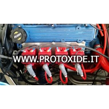 Kit 4 bobine singole con piastra per Fiat Punto Gt - Uno Turbo Accensioni e Bobine potenziate