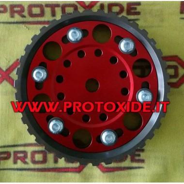 Polea de árbol de levas ajustable para motores Fiat Fire 8V Poleas de motor ajustables y poleas de compresor