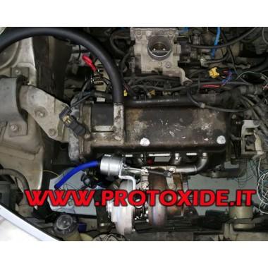 Kit trasformazione Turbo motori Fiat Fire 1200 8v PARTI MOTORE TURBO ESTERNE Kit potenziamento motore