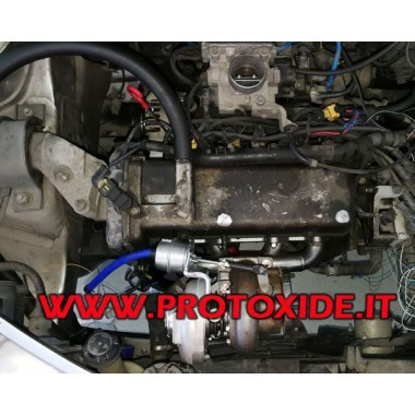 Turbo-ombouwset Brandweerwagens Fiat-Alfa-Lancia 1200 8v EXTERNE ONDERDELEN Kit Motorvermogen