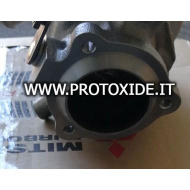 Abgasflansch für Mitsubishi TD04HL Turbo Fallrohr 3 Loch Flansche für Turbo, Downpipe und Wastegate