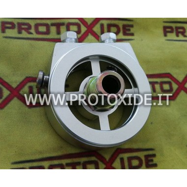 Oil filter holder adapter for installing oil pressure temperature sensors Supports oil filter and oil cooler accessories