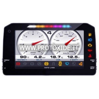 """Digital instrumentbræt til biler og motorcykler """"P"""" NY VERSION 1.2 Digitale dashboards"""