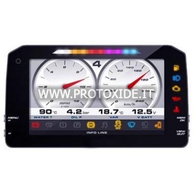 """Digitální přístrojová deska pro automobily a motocykly """"P"""" NOVÁ VERZE 1.2 Digitální dashboardy"""
